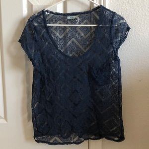 Lace Kimchi Blue Urban Outfitters Top